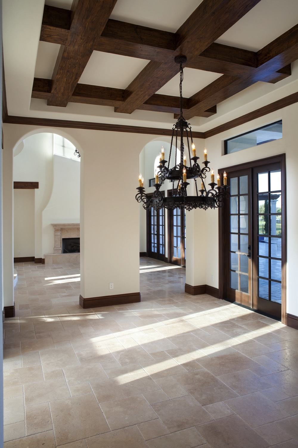 Fake Ceiling Beams ~ Faux wood beams for affordable architectural details