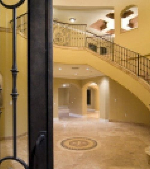 interior luxury home entry