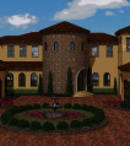 exterior luxury home Modern Homes hernandez rendering
