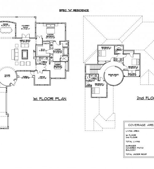 floor plan blue prints