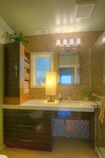 "NKBA 2013 Design Contest Contestant ""Mosaics Meet Their Match"" , photo courtesy of NKBA"