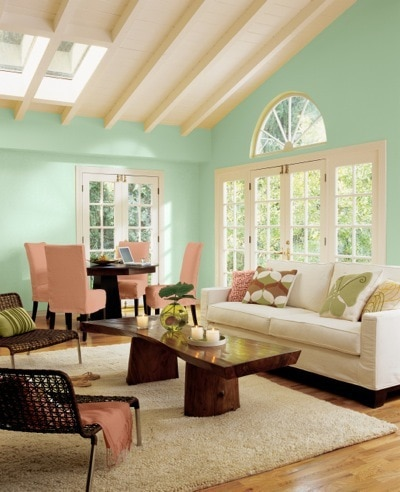 Aloe SW6464 Color of the Year 2013 as deemed by Sherwin-Williams