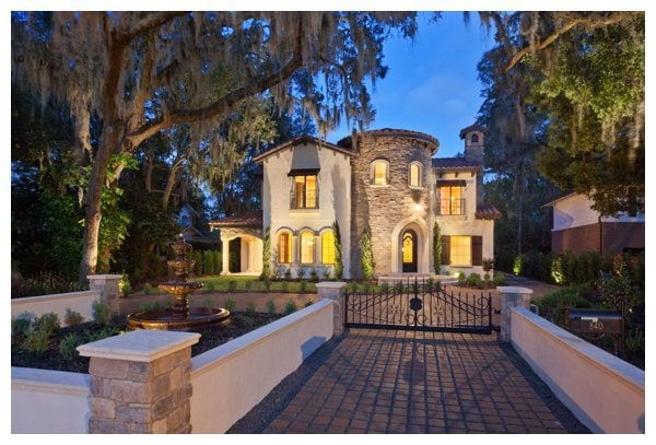 Villa Bimalina On Park Avenue In Winter Florida Built By Orlando Custom Home Builder Jorge Ulibarri Imyourbuilder