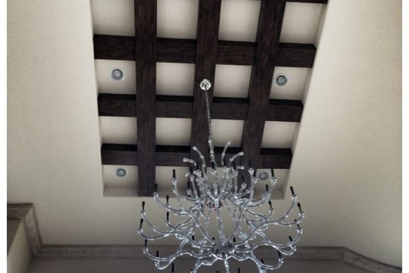 interior luxury home chandelier