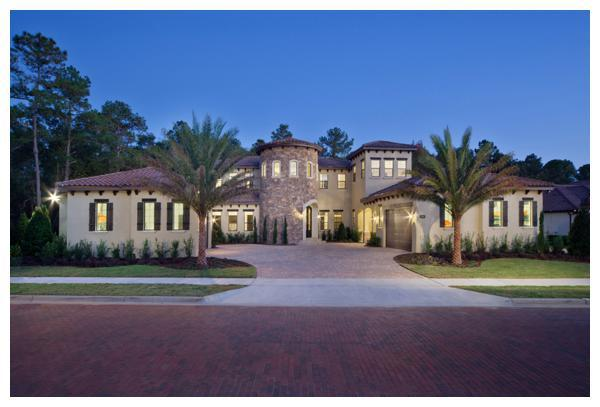 Villa Hernandez is a 6,300 square foot home designed and built by Orlando Custom Home Builder Jorge Ulibarri in the gated enclave of Acuera in Seminole County, Florida.  For more, go to www.imyourbuilder.com