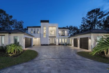 Florida Modern Home by Orlando Custom Home Builder Jorge Ulibarri
