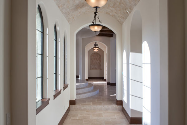 interior luxury home rice lake hallway