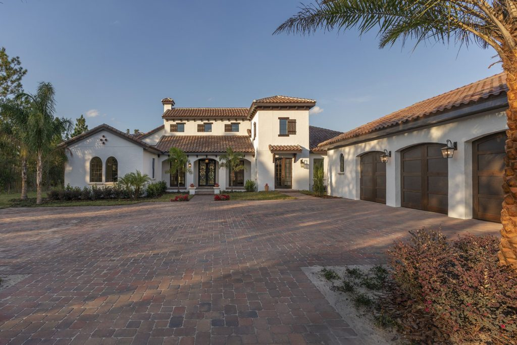 Spanish Revival Custom Home by Orlando Custom Homebuilder Jorge Ulibarri