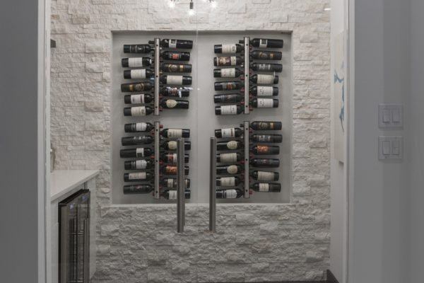 interior luxury home wine closet