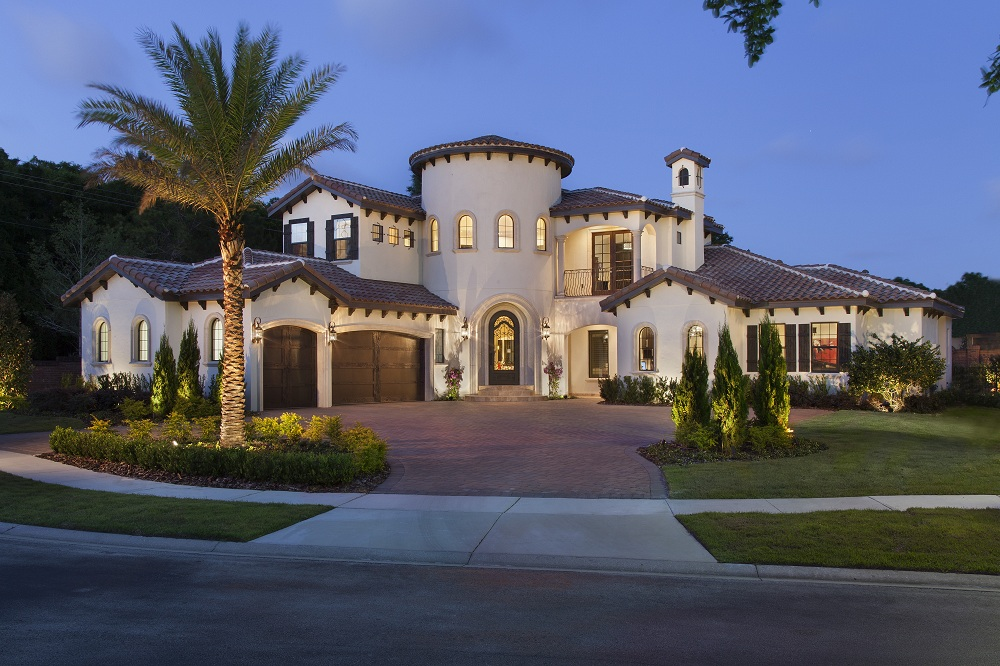 exterior luxury home Modern Homes