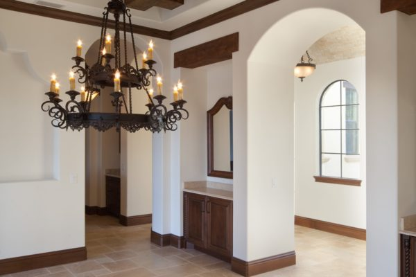 interior luxury home foyer
