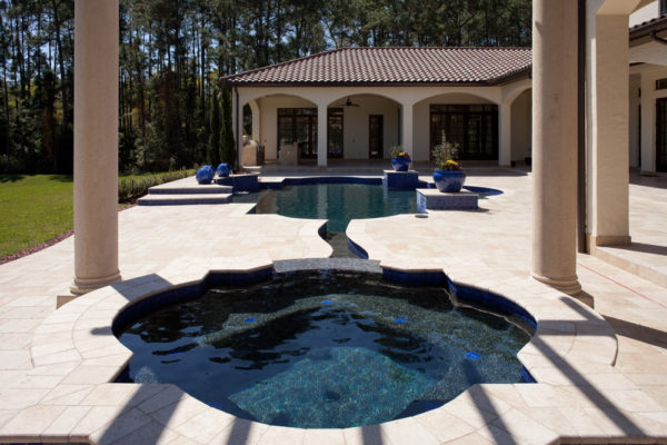 exterior luxury home Modern Homes pool