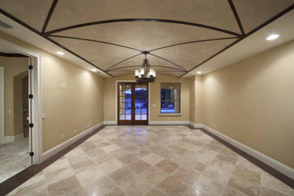 luxury home interior to patio