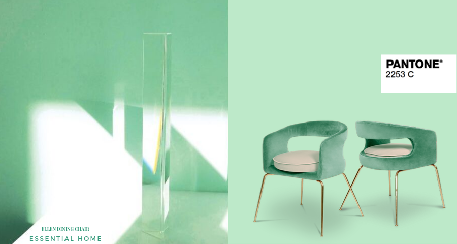 Essential Home's 2020 Color of the Year is Neo Mint