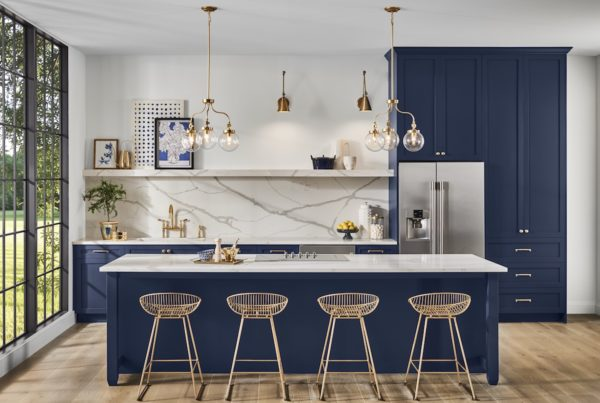 Kitchen, Sherwin Williams Naval SW 6244, 2020 Color of the Year