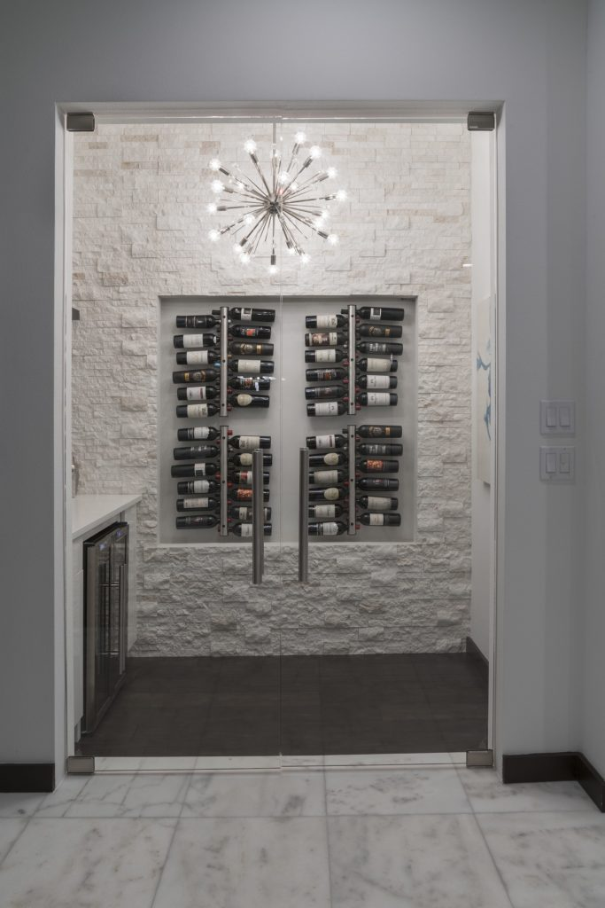 Midcentury modern winery chandelier